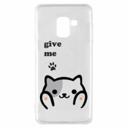 Чохол для Samsung A8 2018 Give me cat