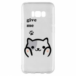 Чохол для Samsung S8+ Give me cat
