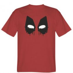 Мужская футболка Глаза Deadpool - FatLine