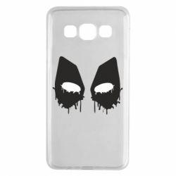Чехол для Samsung A3 2015 Глаза Deadpool - FatLine