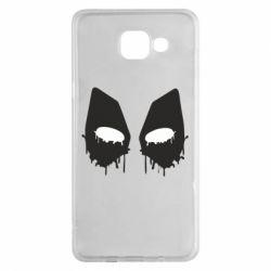 Чехол для Samsung A5 2016 Глаза Deadpool - FatLine