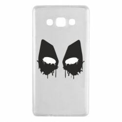Чехол для Samsung A7 2015 Глаза Deadpool - FatLine