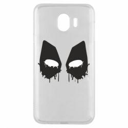 Чехол для Samsung J4 Глаза Deadpool - FatLine