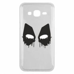 Чехол для Samsung J5 2015 Глаза Deadpool - FatLine