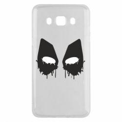 Чехол для Samsung J5 2016 Глаза Deadpool - FatLine