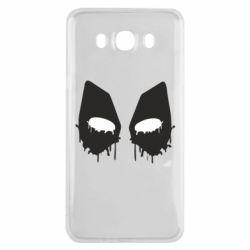 Чехол для Samsung J7 2016 Глаза Deadpool - FatLine