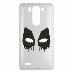Чехол для LG G3 mini/G3s Глаза Deadpool - FatLine
