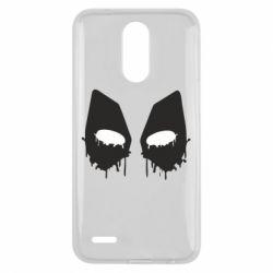 Чехол для LG K10 2017 Глаза Deadpool - FatLine