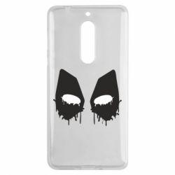 Чехол для Nokia 5 Глаза Deadpool - FatLine