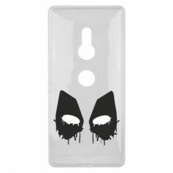 Чехол для Sony Xperia XZ2 Глаза Deadpool - FatLine