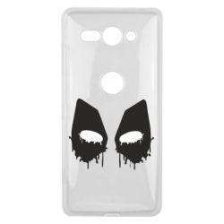 Чехол для Sony Xperia XZ2 Compact Глаза Deadpool - FatLine