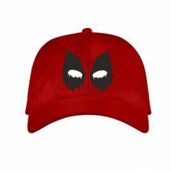 Детская кепка Глаза Deadpool - FatLine