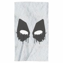 Полотенце Глаза Deadpool - FatLine