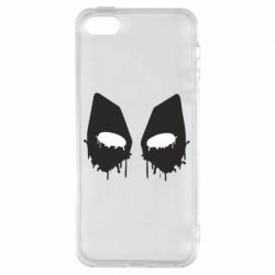 Чехол для iPhone5/5S/SE Глаза Deadpool - FatLine