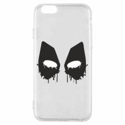 Чехол для iPhone 6/6S Глаза Deadpool - FatLine