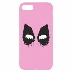 Чехол для iPhone 7 Глаза Deadpool - FatLine