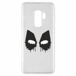 Чехол для Samsung S9+ Глаза Deadpool - FatLine
