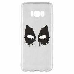 Чехол для Samsung S8+ Глаза Deadpool - FatLine