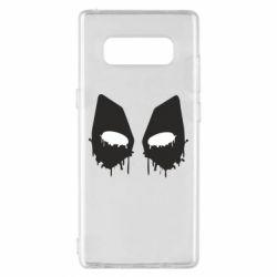 Чехол для Samsung Note 8 Глаза Deadpool - FatLine