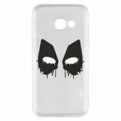 Чехол для Samsung A3 2017 Глаза Deadpool - FatLine
