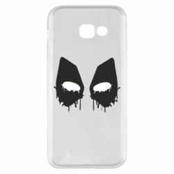 Чехол для Samsung A5 2017 Глаза Deadpool - FatLine