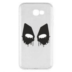 Чехол для Samsung A7 2017 Глаза Deadpool - FatLine