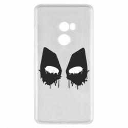 Чехол для Xiaomi Mi Mix 2 Глаза Deadpool - FatLine