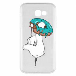 Чохол для Samsung A7 2017 Glove and donut