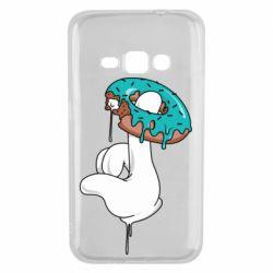 Чохол для Samsung J1 2016 Glove and donut