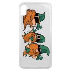 Чохол для iPhone Xs Max Gnomes and clover