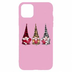 Чехол для iPhone 11 Pro Gnomes with a heart