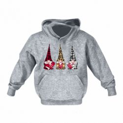 Детская толстовка Gnomes with a heart