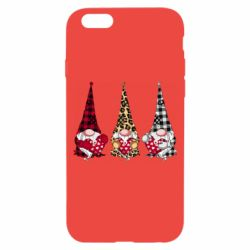 Чехол для iPhone 6/6S Gnomes with a heart
