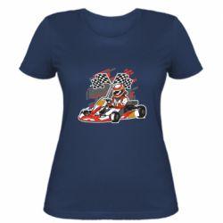 Женская футболка Go Cart