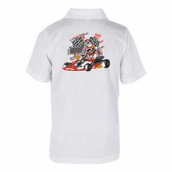 Детская футболка поло Go Cart