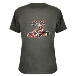 Камуфляжная футболка Go Cart
