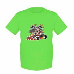 Детская футболка Go Cart