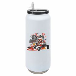 Термобанка 500ml Go Cart