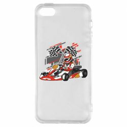 Чехол для iPhone5/5S/SE Go Cart
