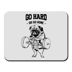 Коврик для мыши Go hard or go home