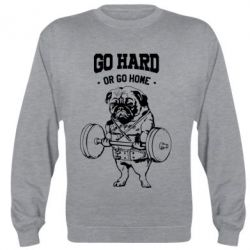 Реглан Go hard or go home