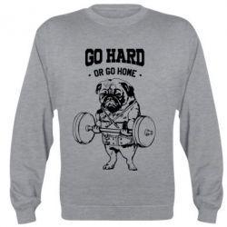 Реглан Go hard or go home
