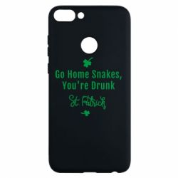 Чохол для Huawei P Smart Go home shakes, youre drunk St. Patrick - FatLine