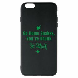 Чохол для iPhone 6 Plus/6S Plus Go home shakes, youre drunk St. Patrick