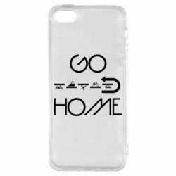 Чехол для iPhone5/5S/SE GO HOME