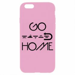 Чехол для iPhone 6/6S GO HOME