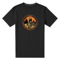 Чоловіча стрейчева футболка Go outside worst case scenario a bear kills you