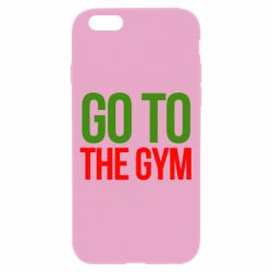 Чохол для iPhone 6/6S GO TO THE GYM