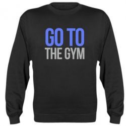 Реглан GO TO THE GYM