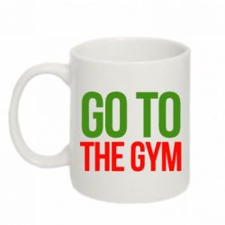 Кружка 320ml GO TO THE GYM - FatLine